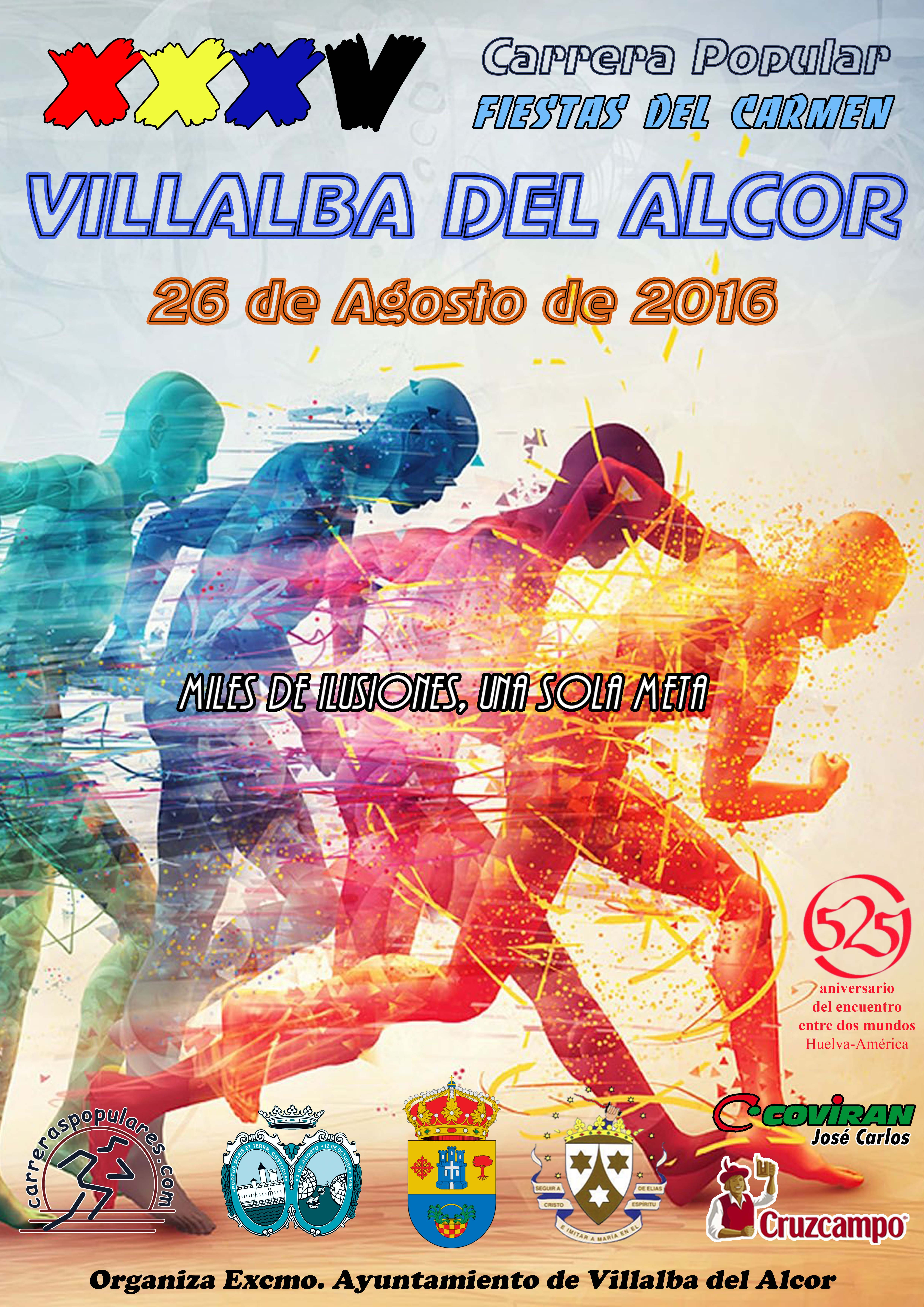 Cartel Carrera Popular 20162